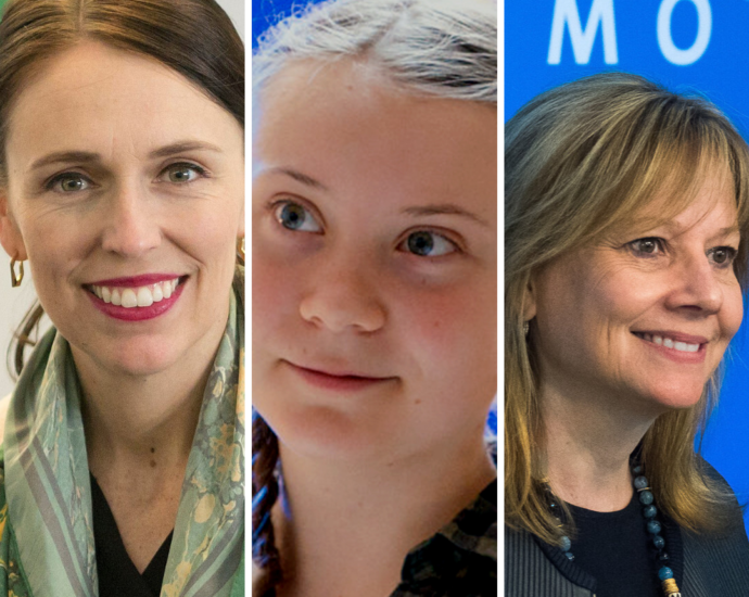 Three Women Leaders