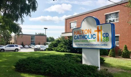 The Halton Catholic School Board Office